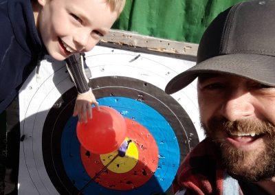 ACE Target Sports Archery boy dan bullseye