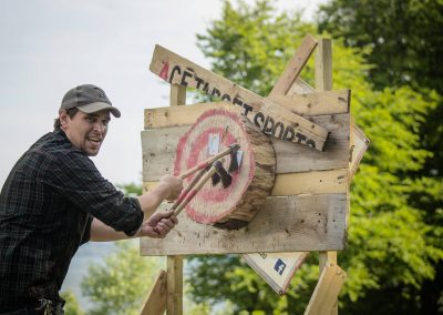 ACE Target Sports Axe Throwing 1