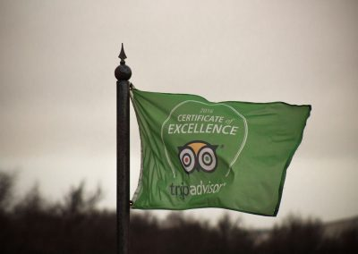 ACE Target Sports trip advisor flag